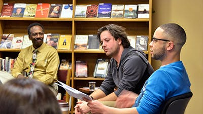 Local Actors Read from The Mountaintop