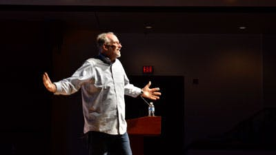 Bob Goff Visits Bethel for Homecoming Chapel