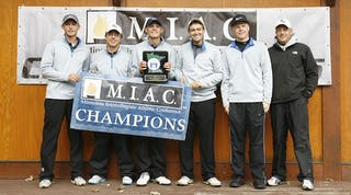 Men's Golf Claims First MIAC Title