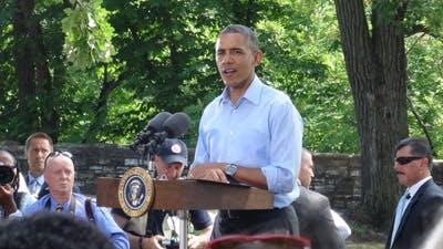 Bethel Staff Member Meets President Obama