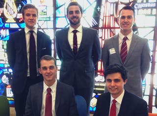 Bethel Team Makes Finals at CFA Research Challenge