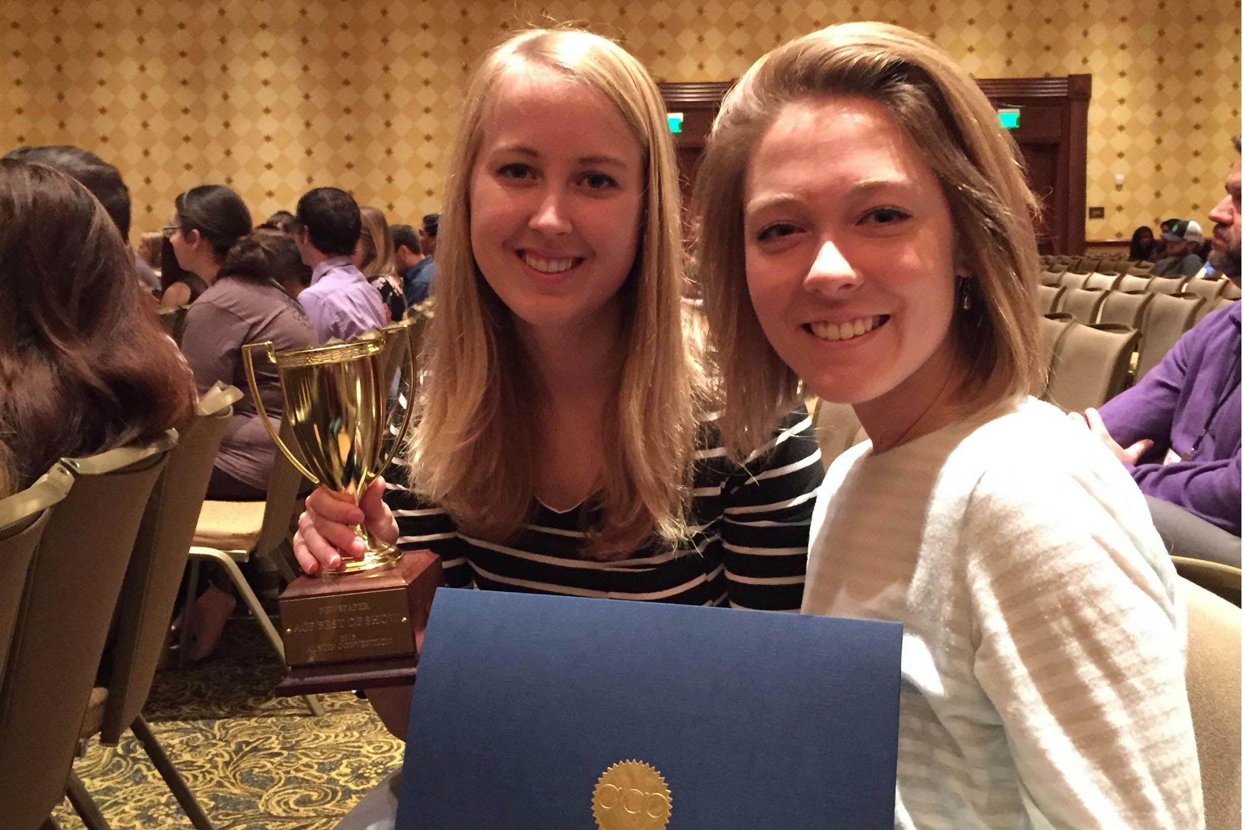 Student Newspaper Wins Award