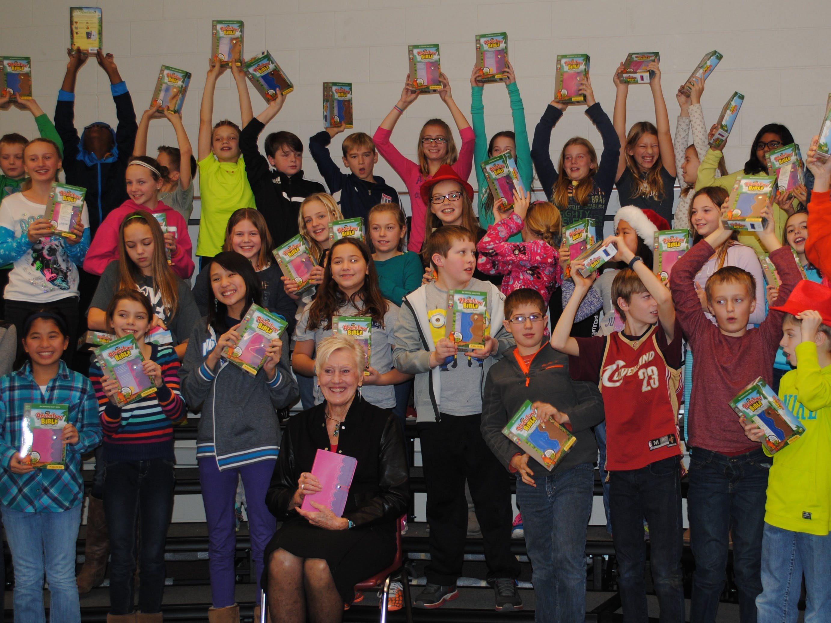 Elementary Students Recognized for Contribution to Bible Translation