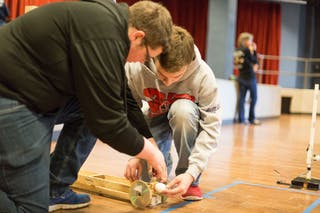 Bethel Hosts Minnesota Science Olympiad Tournament for High School Students