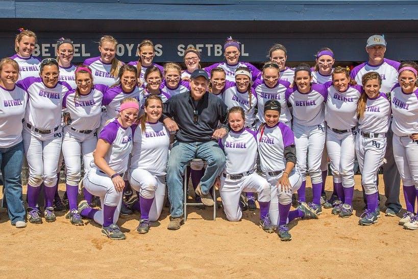 Bethel Softball Wins MIAC Championship