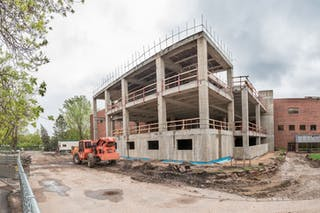 Summer Construction Gets Campus Ready for Students