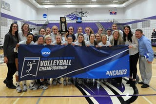 Volleyball Team Headed to Elite Eight
