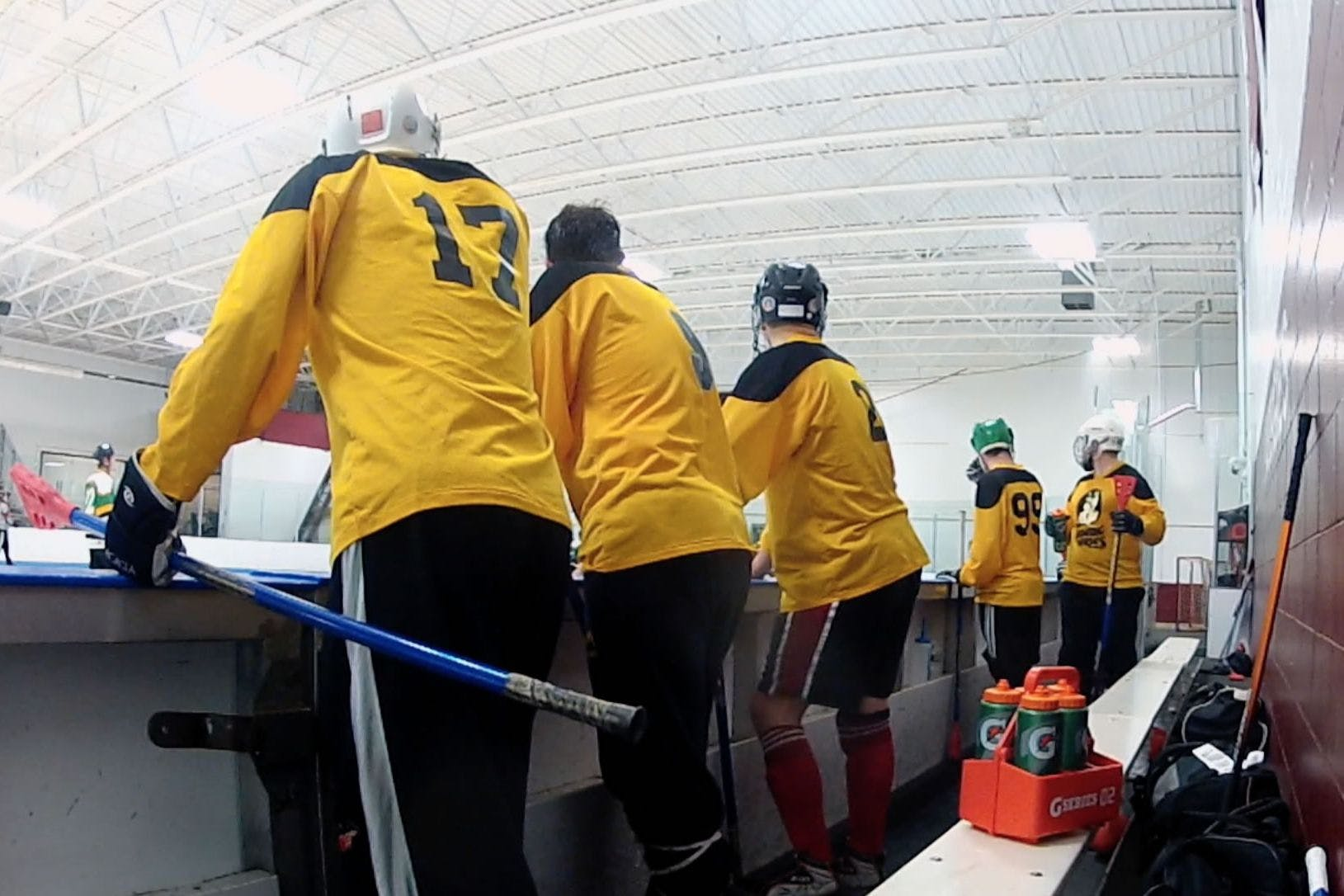 """Kasey Kirby '03 directs broomball documentary """"The Nomadic Who?"""""""