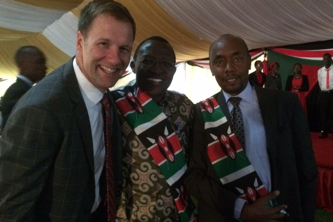 Alumnus Speaks at Kenyan National Prayer Breakfast