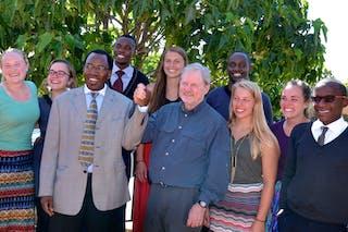 President Barnes Leads Kenya Visit