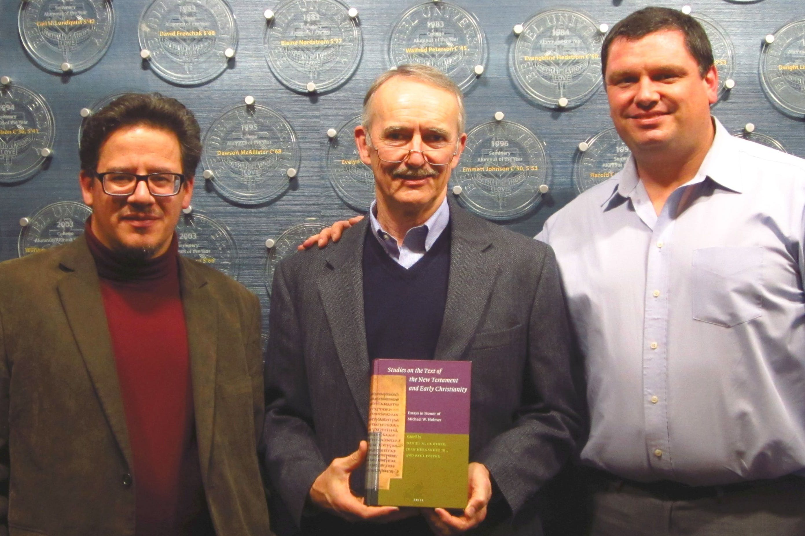 Scholars Honor Michael Holmes with Volume of Essays