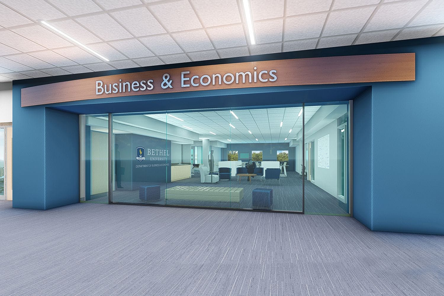 $4 Million Renovations Make Way for New Department of Business and Economics Space