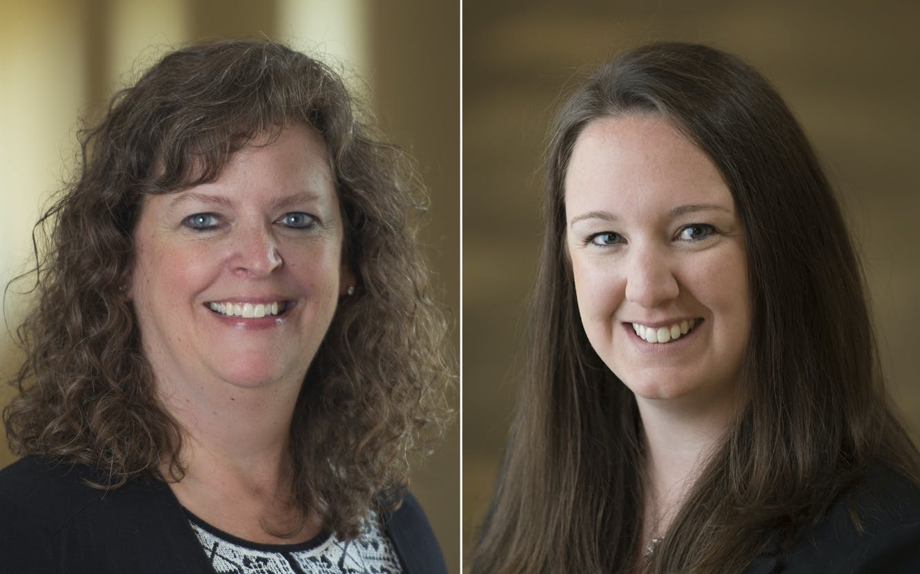 Professors Christy Hanson and Lisa Silmser Recognized for Excellence