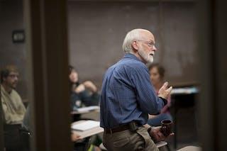 Professor of Philosophy Don Postema Retires