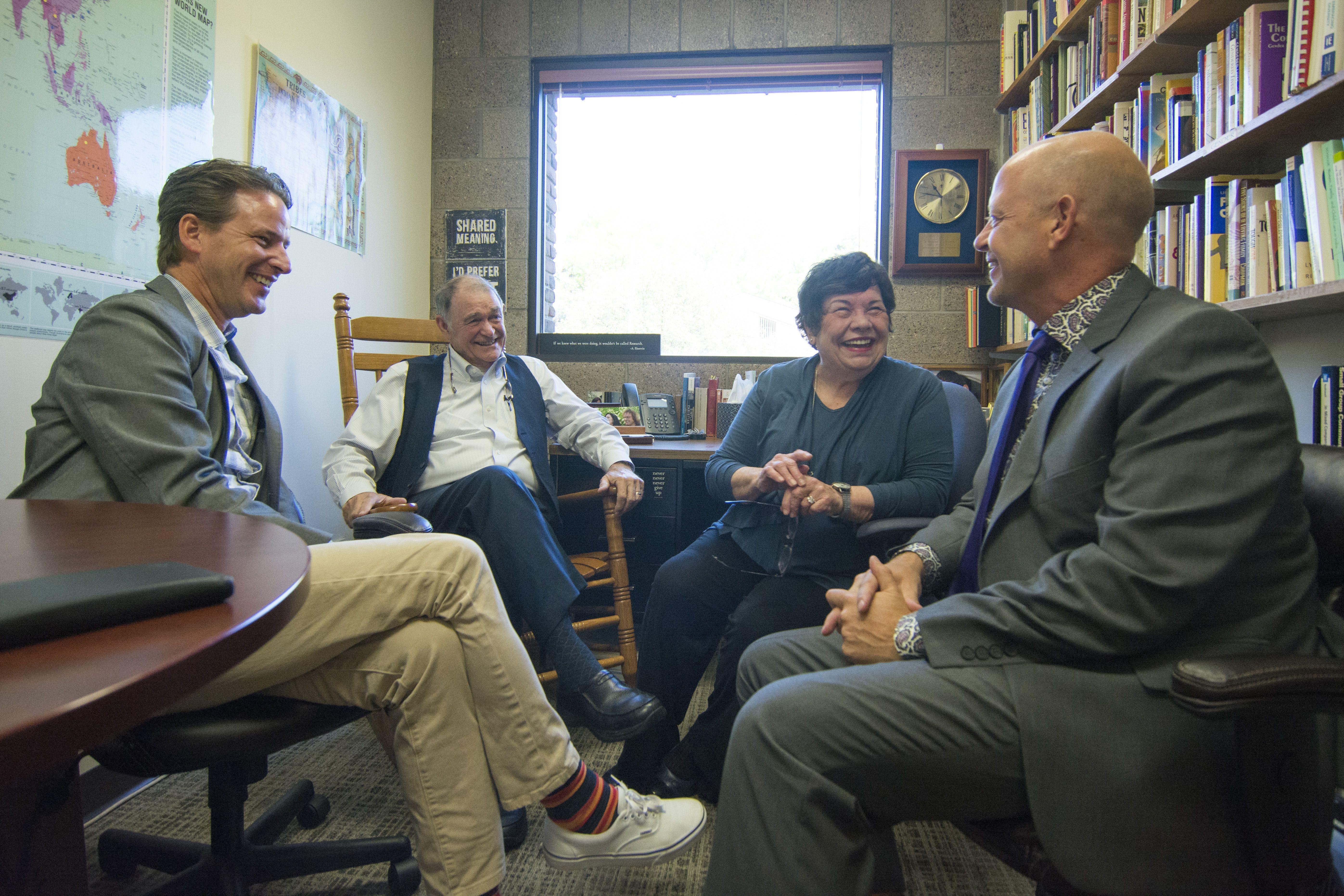 Alumni Create Scholarship to Honor Favorite Communication Studies Professors