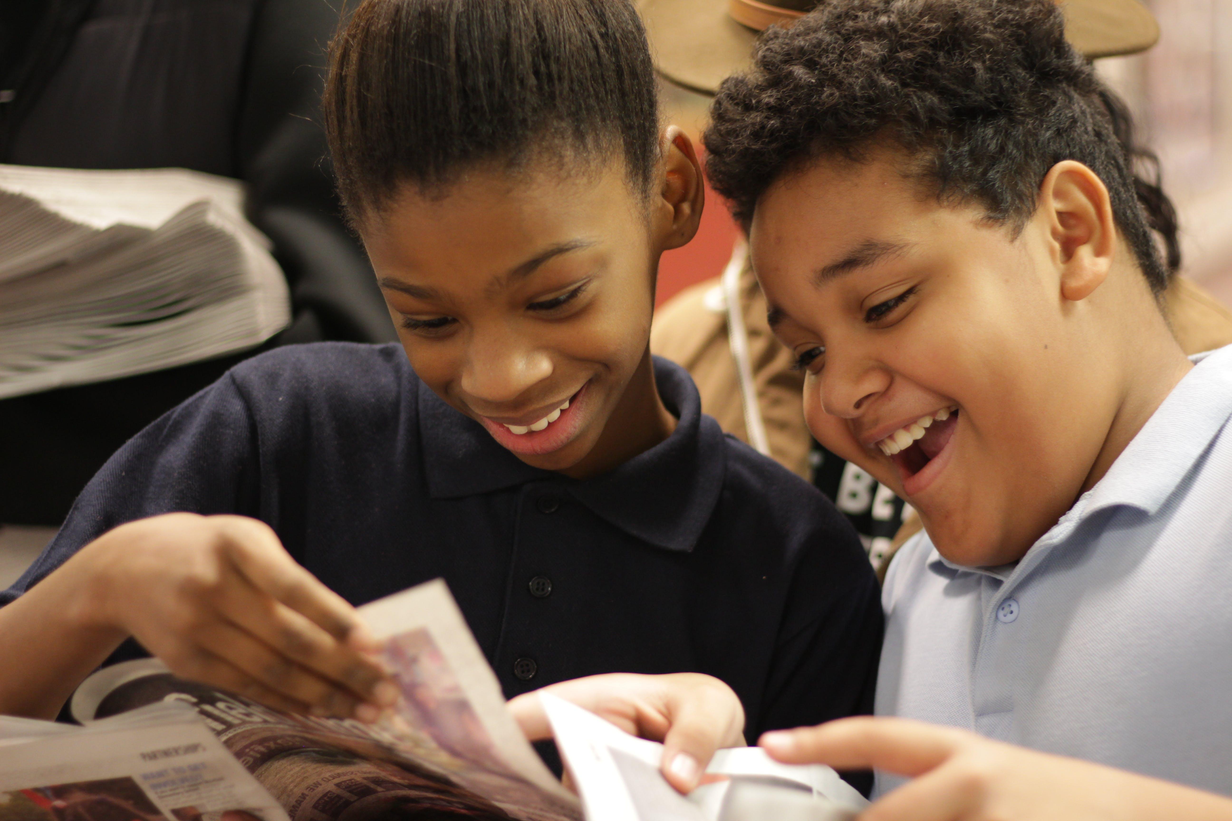 Journalism Class Partners with Elementary School in St. Paul's Frogtown Neighborhood