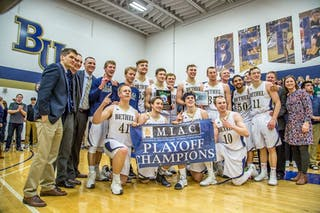 Men's Basketball Crowned MIAC Champions