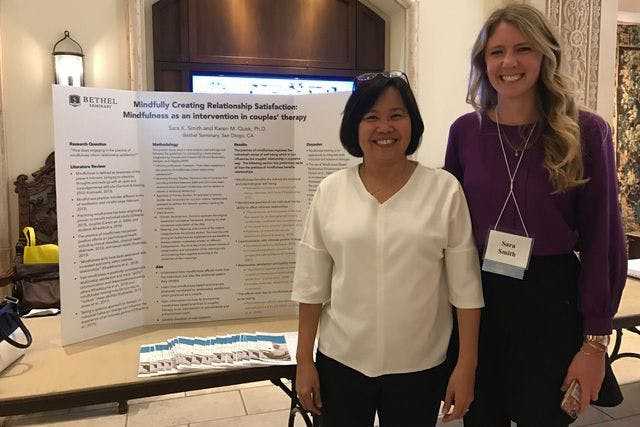 Student-Faculty Team Researches Mindfulness in Couples Therapy