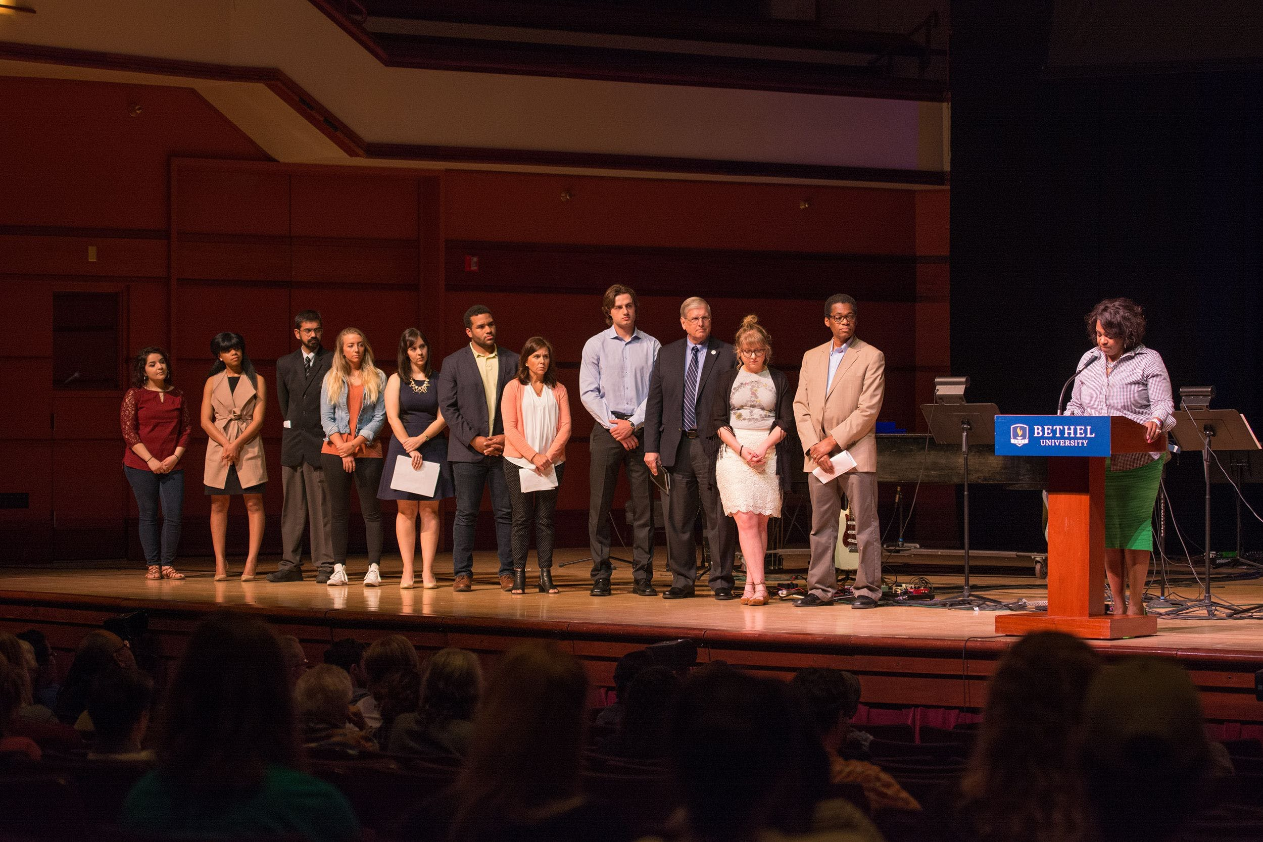 Servant Leadership Award Winners Honored in Chapel