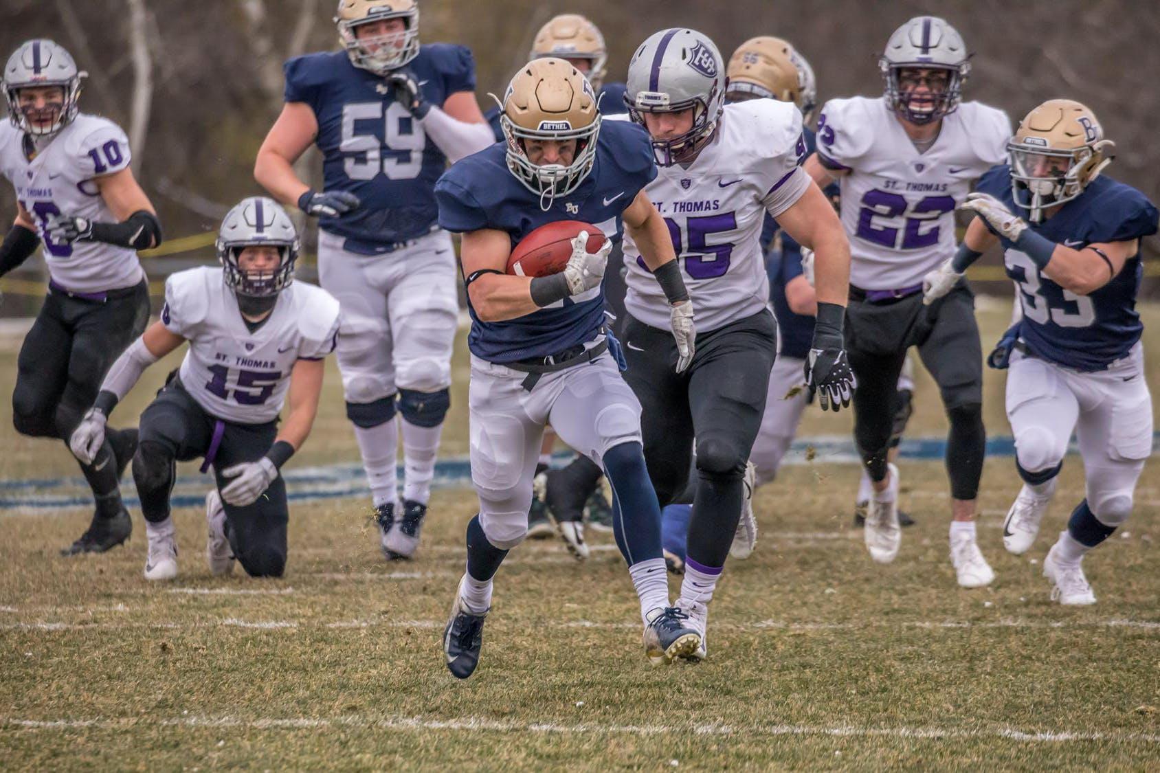 Bethel football team powers its way into the NCAA DIII Playoffs