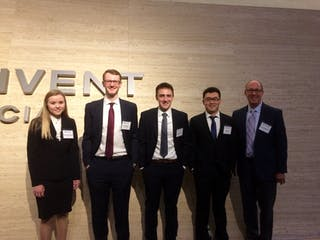 Bethel Team Places 2nd in CFA Global Research Competition