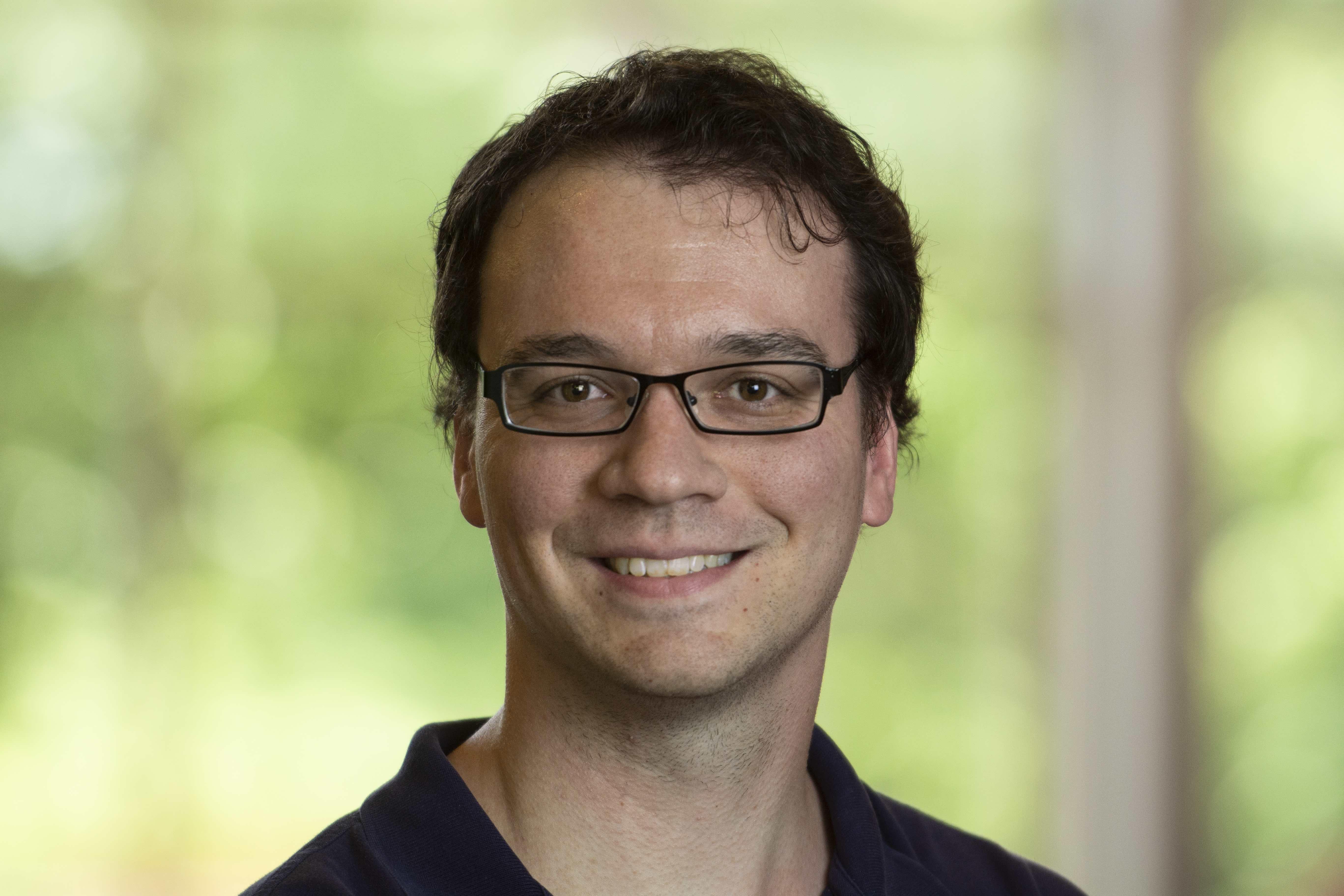 Daniel Sibert, academic advising specialist