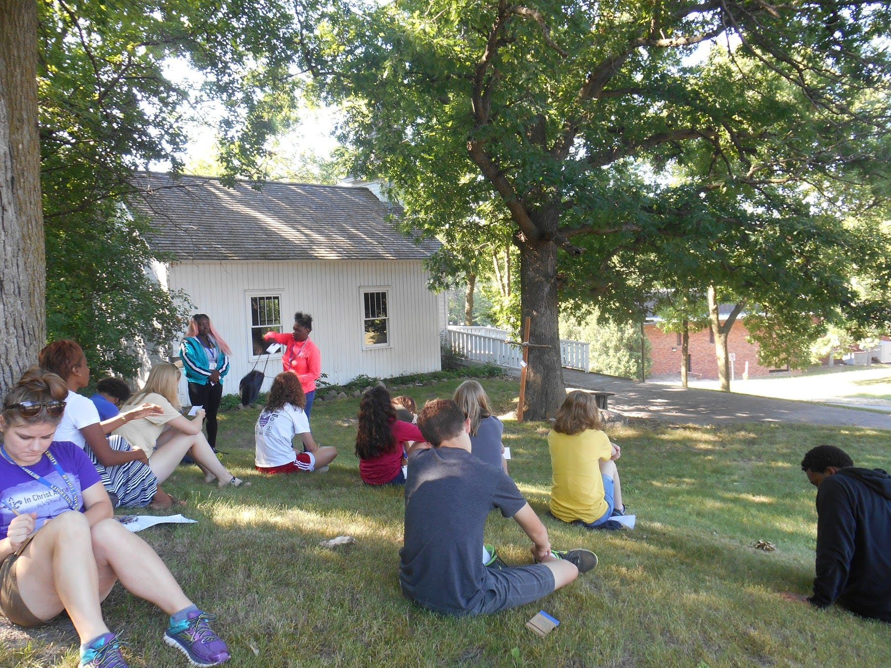 First Cohort Completes Living the Questions Youth Theology Institute