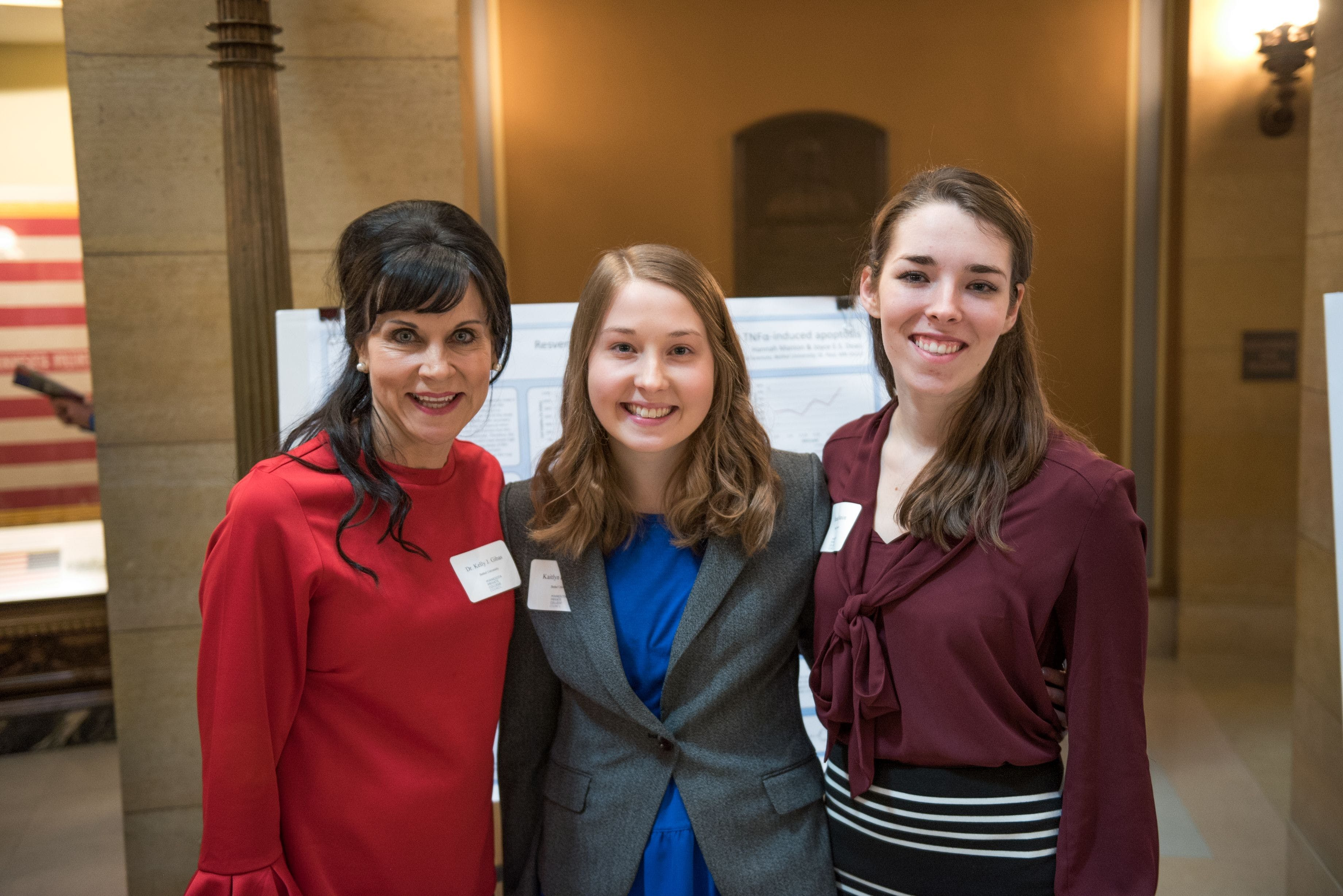 Bethel Students Present Research at State Capitol
