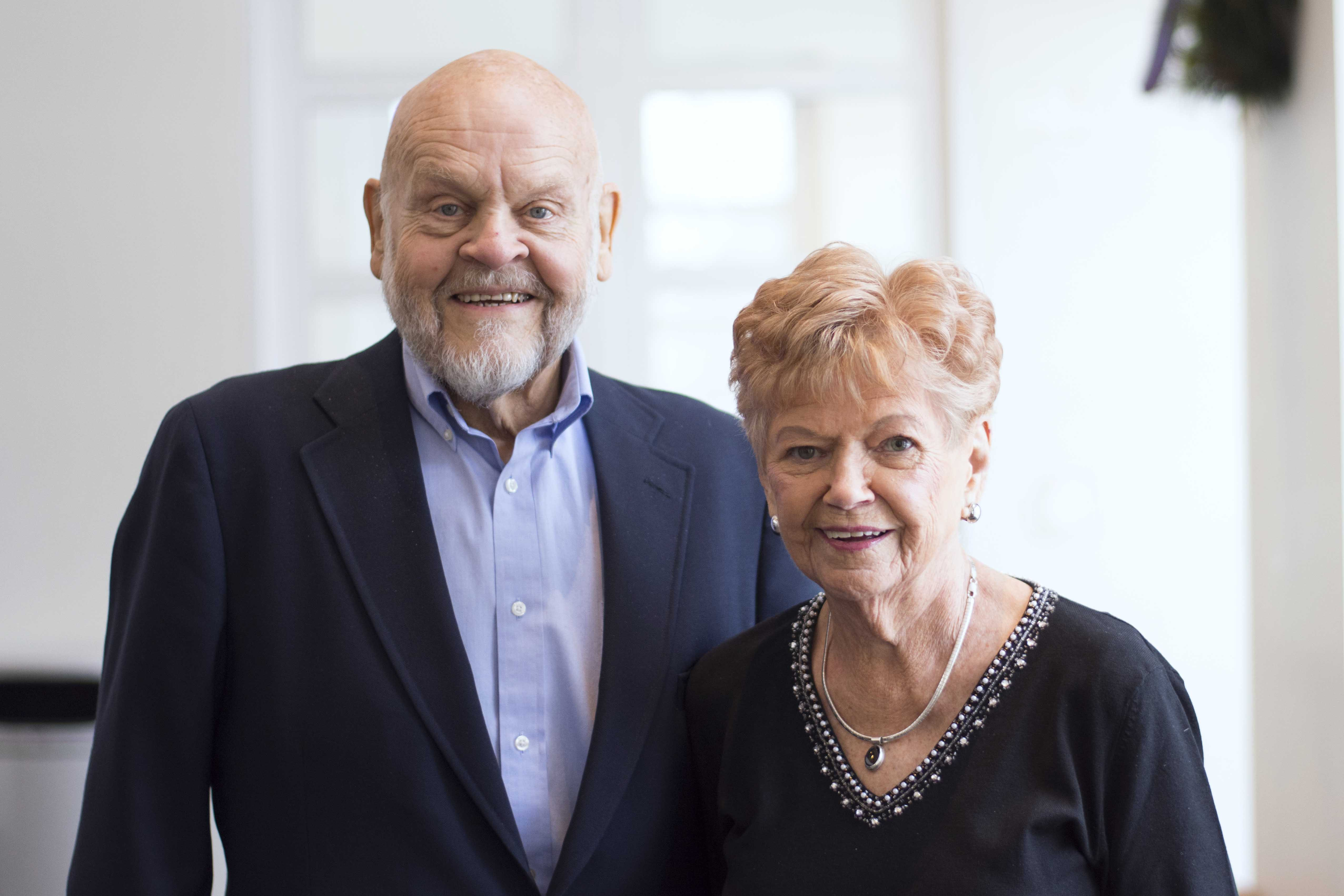 Thor and Nancy Hansen