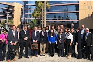 Students Explore Dubai and Abu Dhabi on International Business Trip