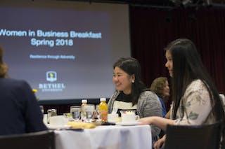 Women in Business Breakfast Celebrates Resilience in the Face of Adversity
