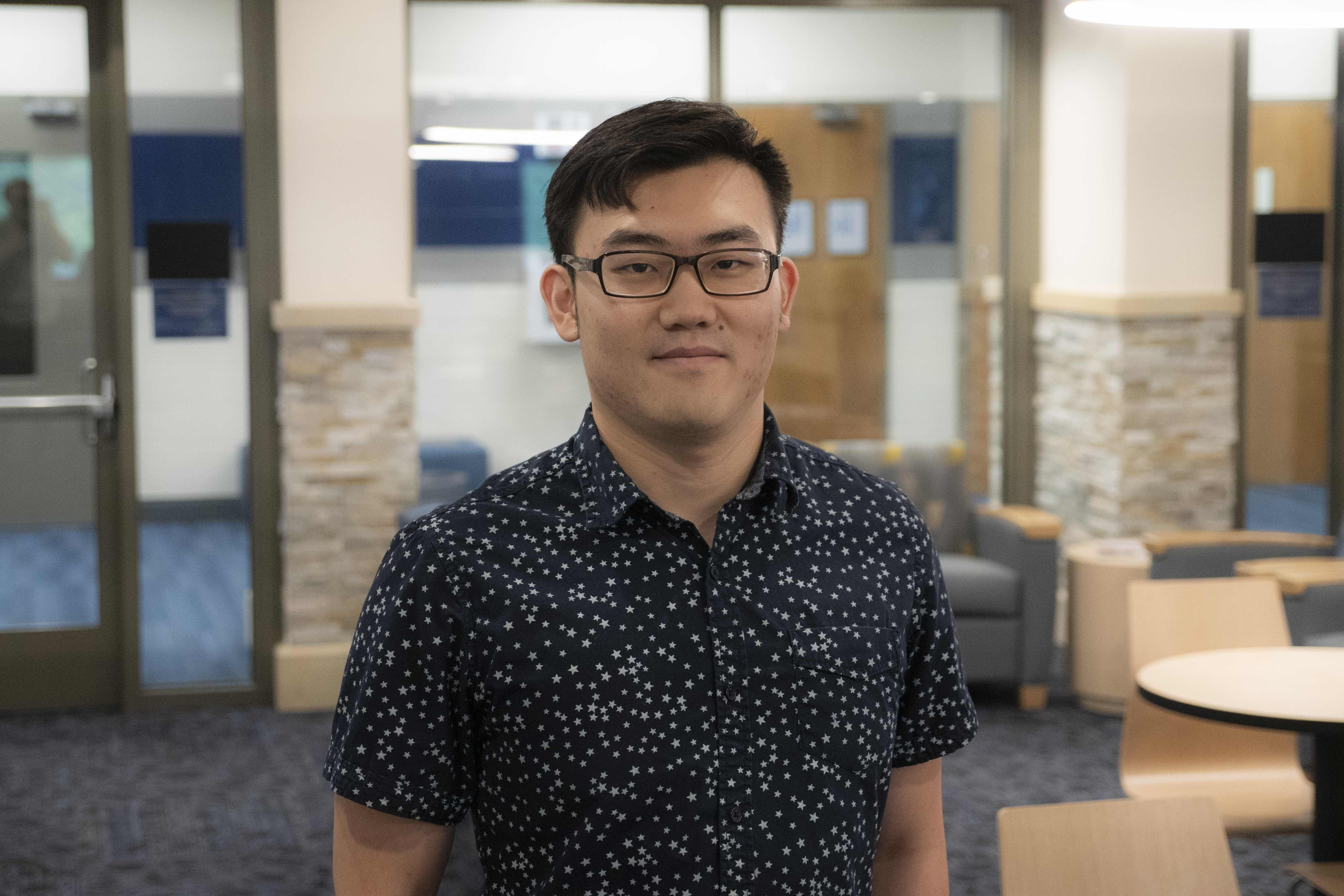 Business Grad Helping Lay a Base for the Future
