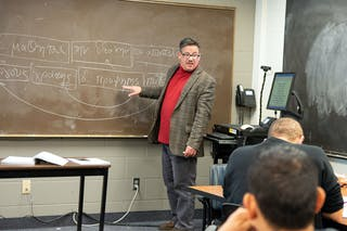 Professor of Biblical Studies Juan Hernández, Jr. has taught biblical Greek for decades—but this semester, he's doing it in Spanish.