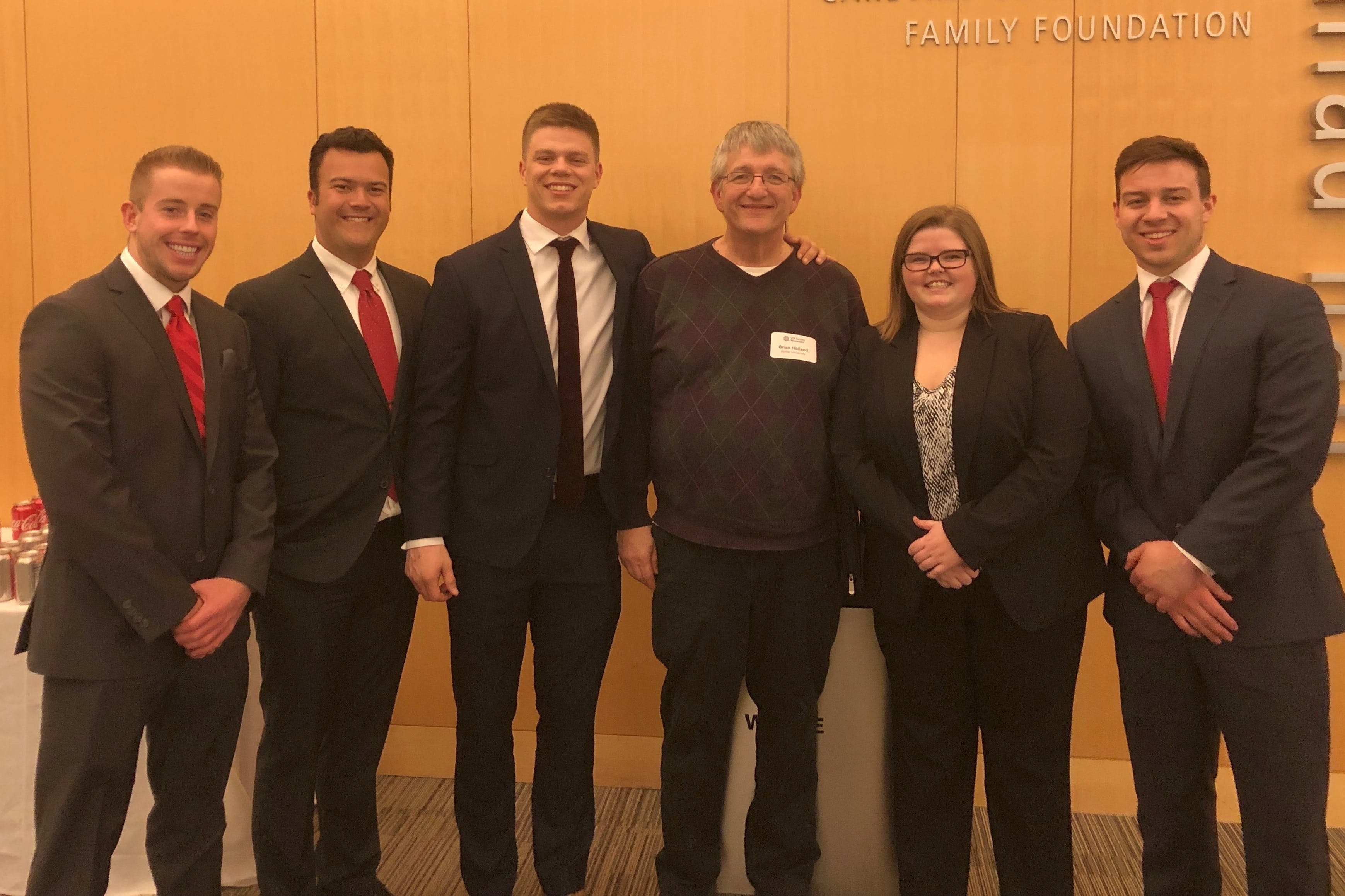 Business Students Apply Their Knowledge in CFA Challenge