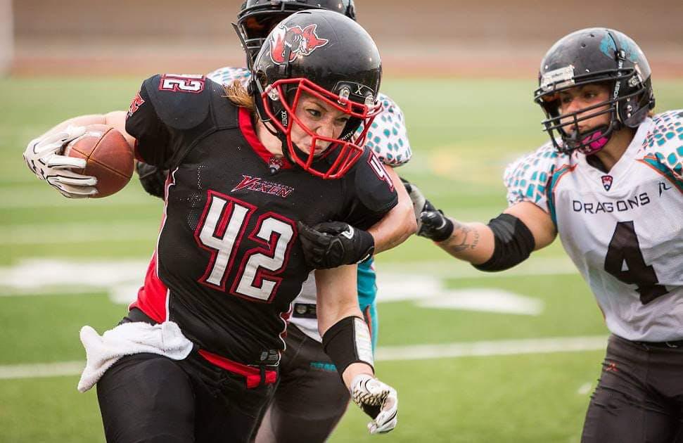 Alumna Follows Her Football Dreams
