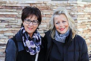 Debbie (Hanley) Szymczyk '78 and Marilyn (Jackson) Robinson '75
