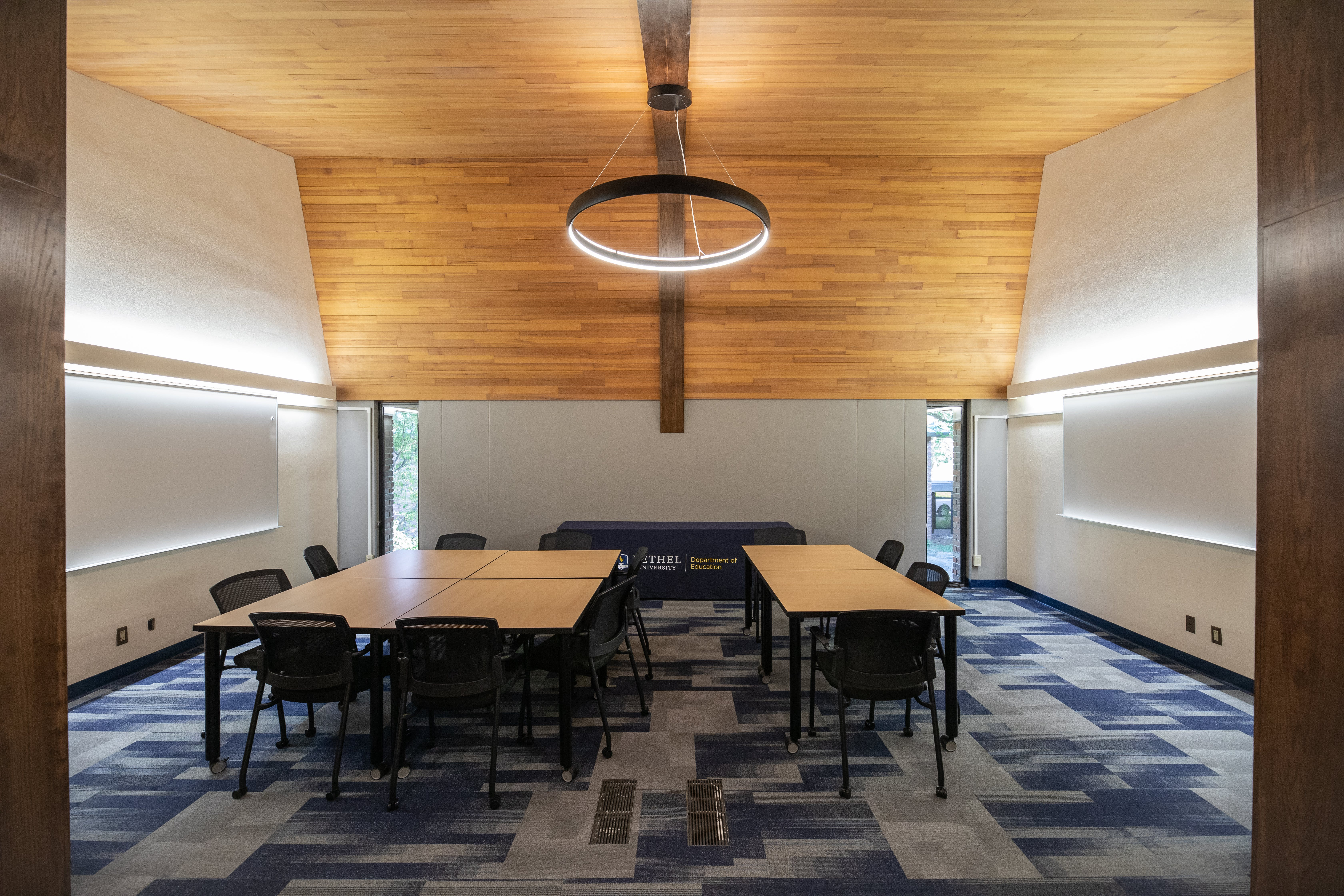 One of the new Department of Education spaces at Bethel's lakeside Center