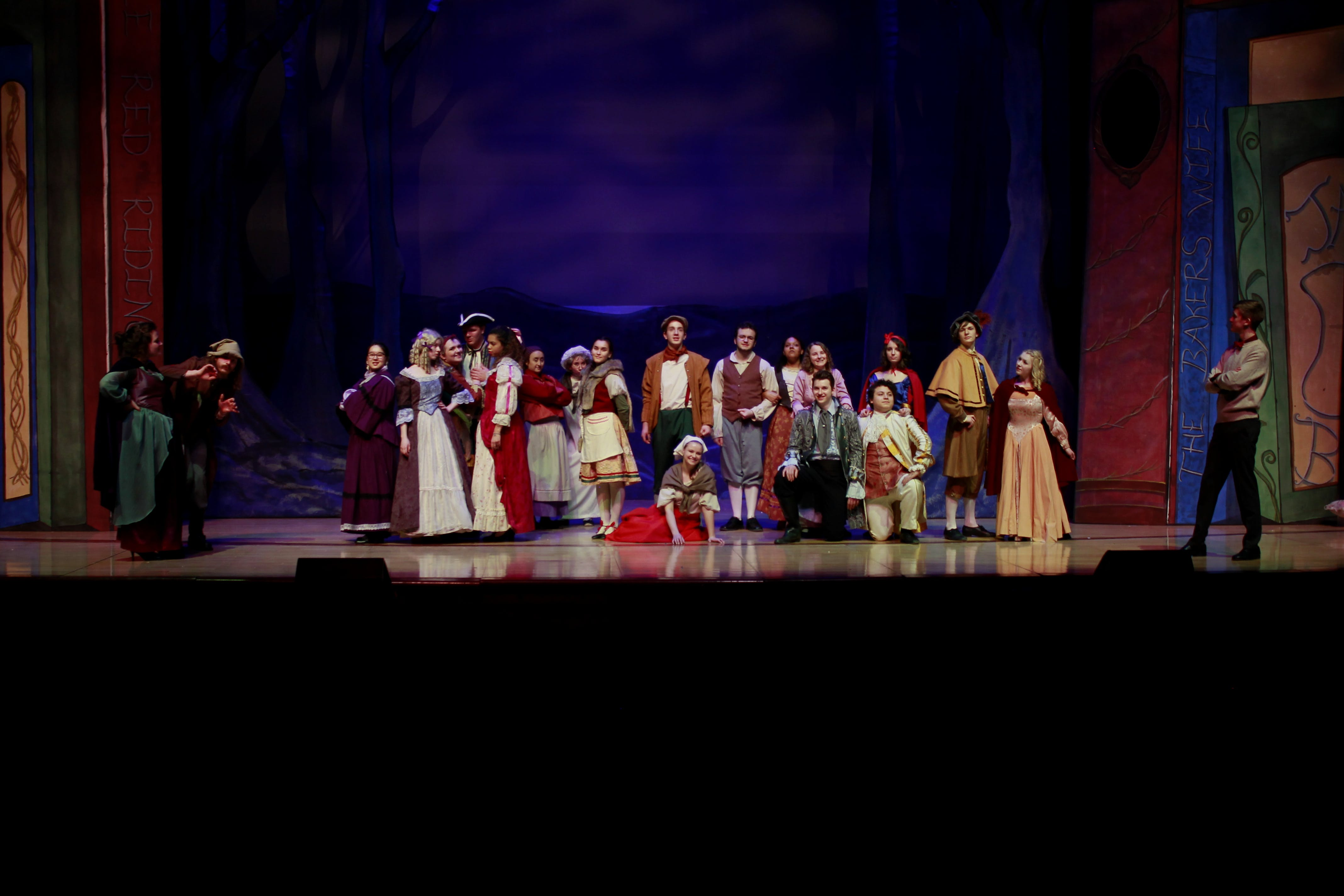 "Bethel Theatre Takes the Journey ""Into the Woods"""