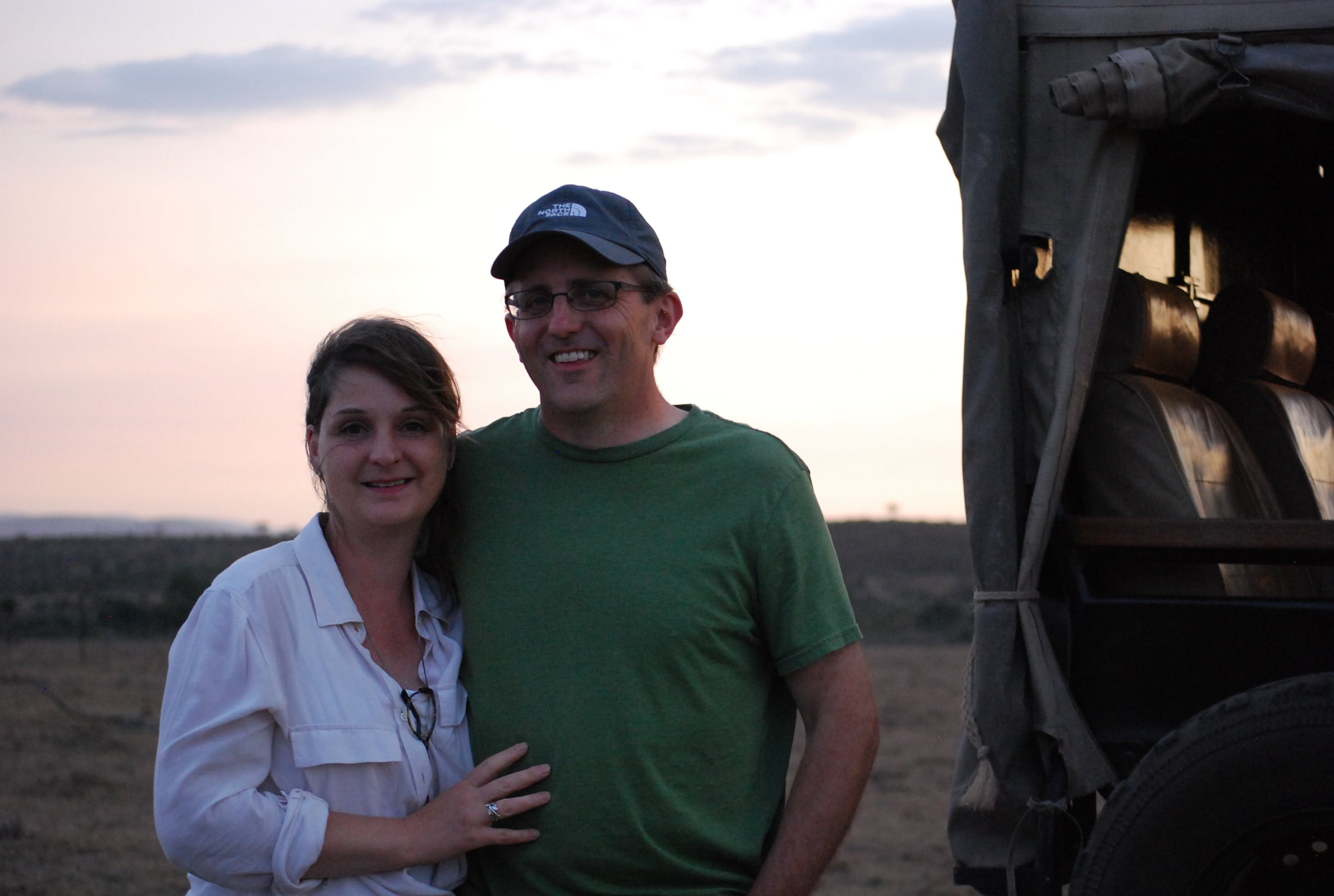 Mike Olsen '92 with his wife Carrie Urheim '92