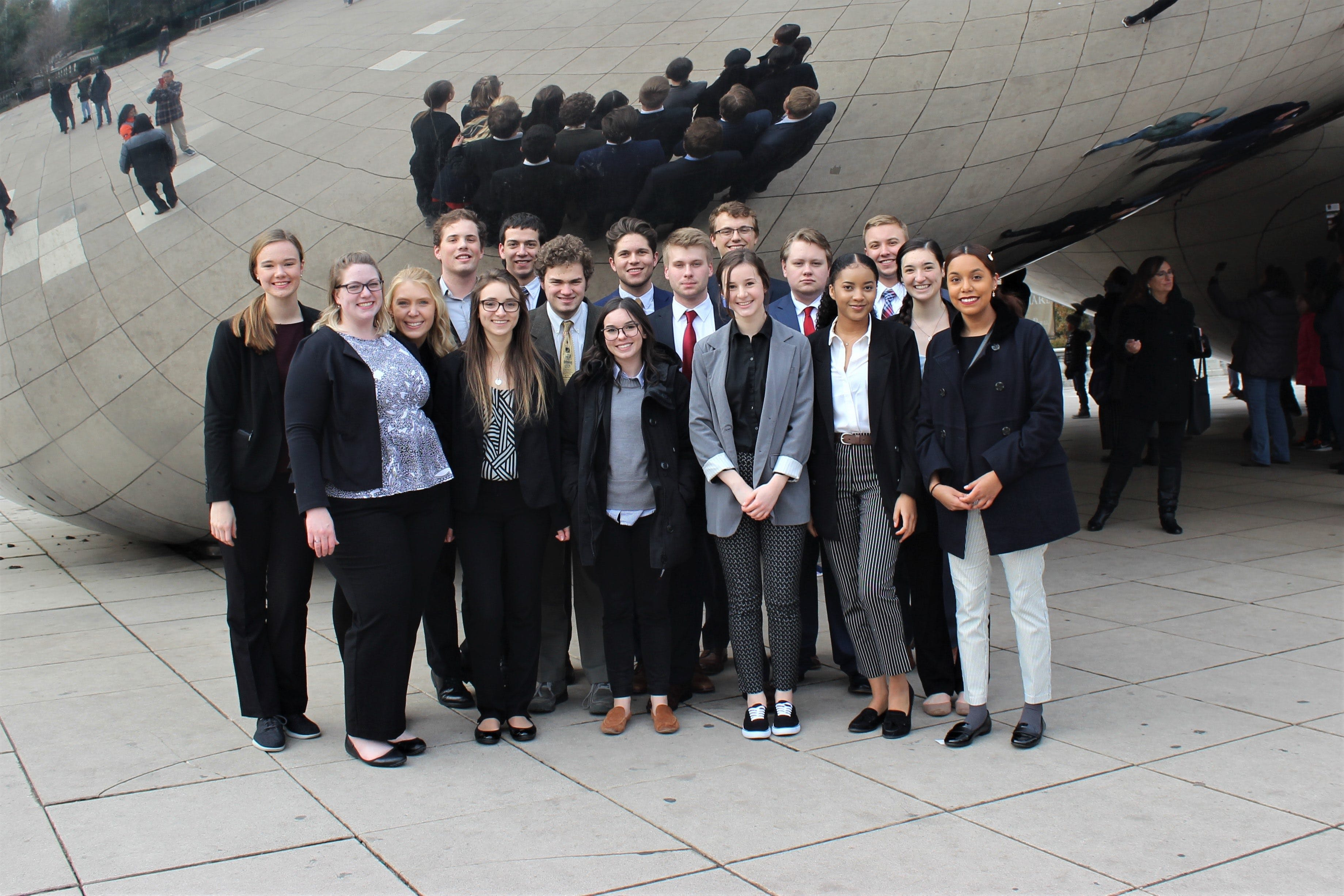 Bethel's Model UN club participated in the American Model United Nations (AMUN) Conference in Chicago in November.