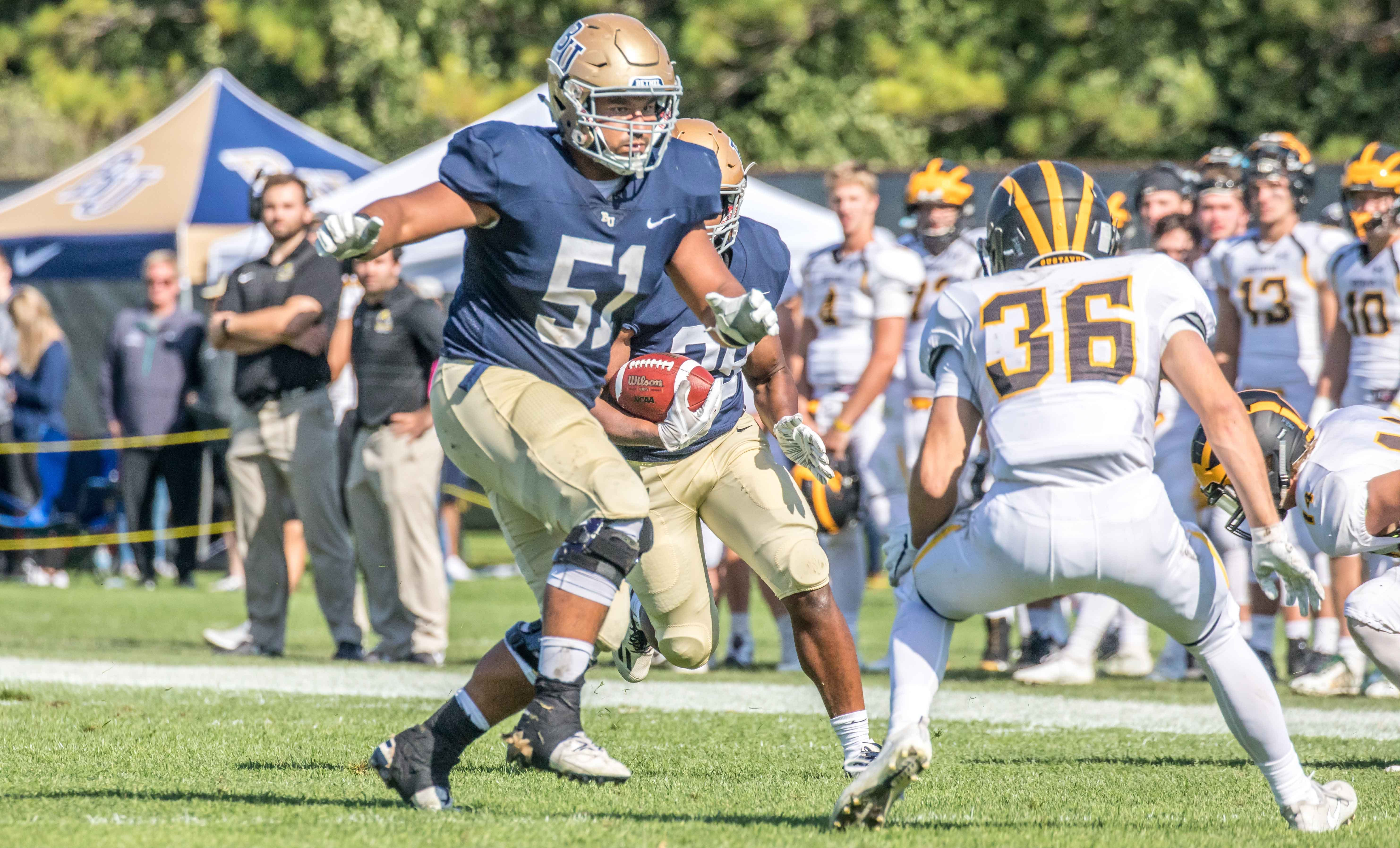 Danny Munoz '20 named to the 2019 Allstate AFCA Good Works Team