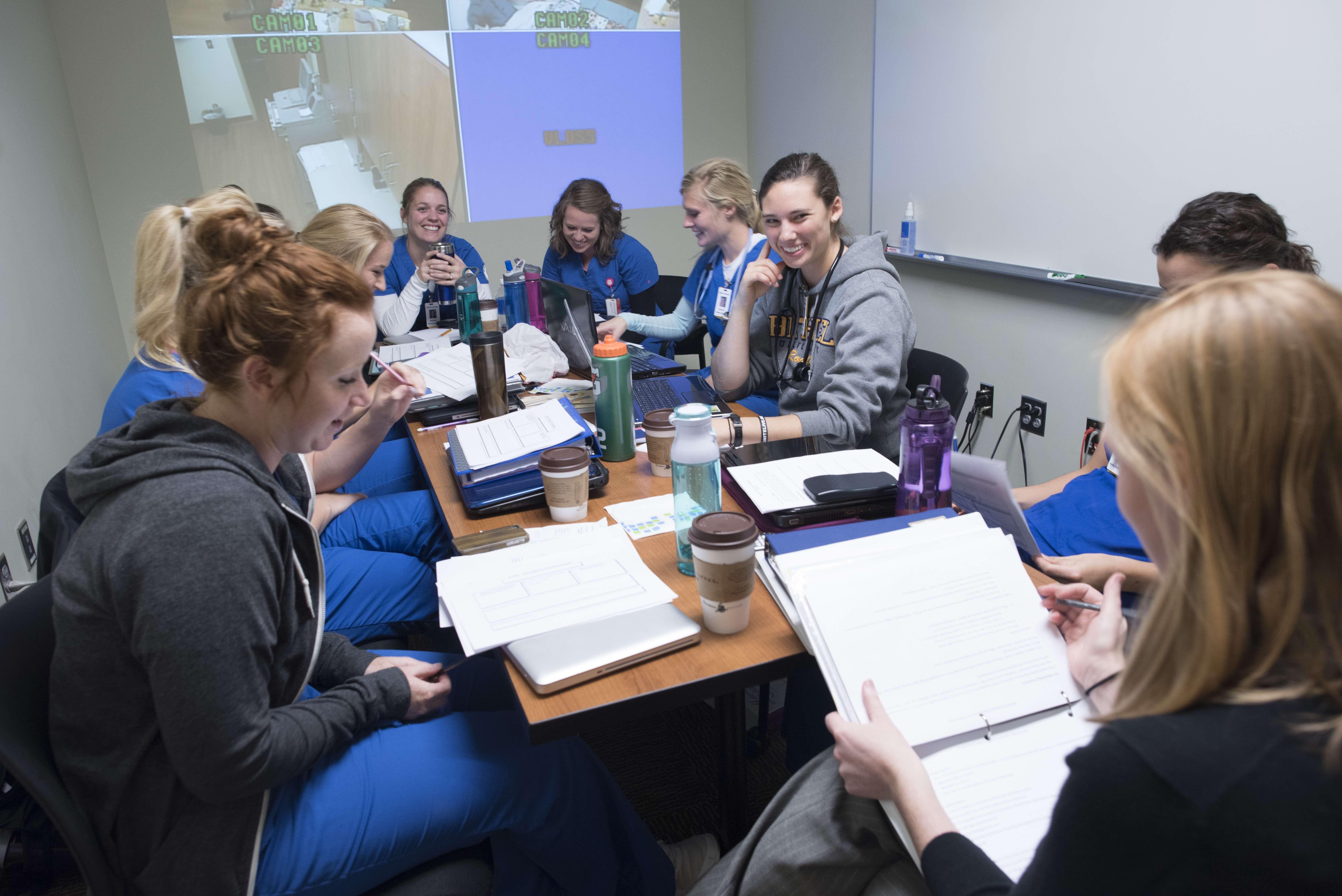 Marilyn H. Batterman Memorial Nursing Scholarship is a merit-based scholarship for Bethel nursing students.