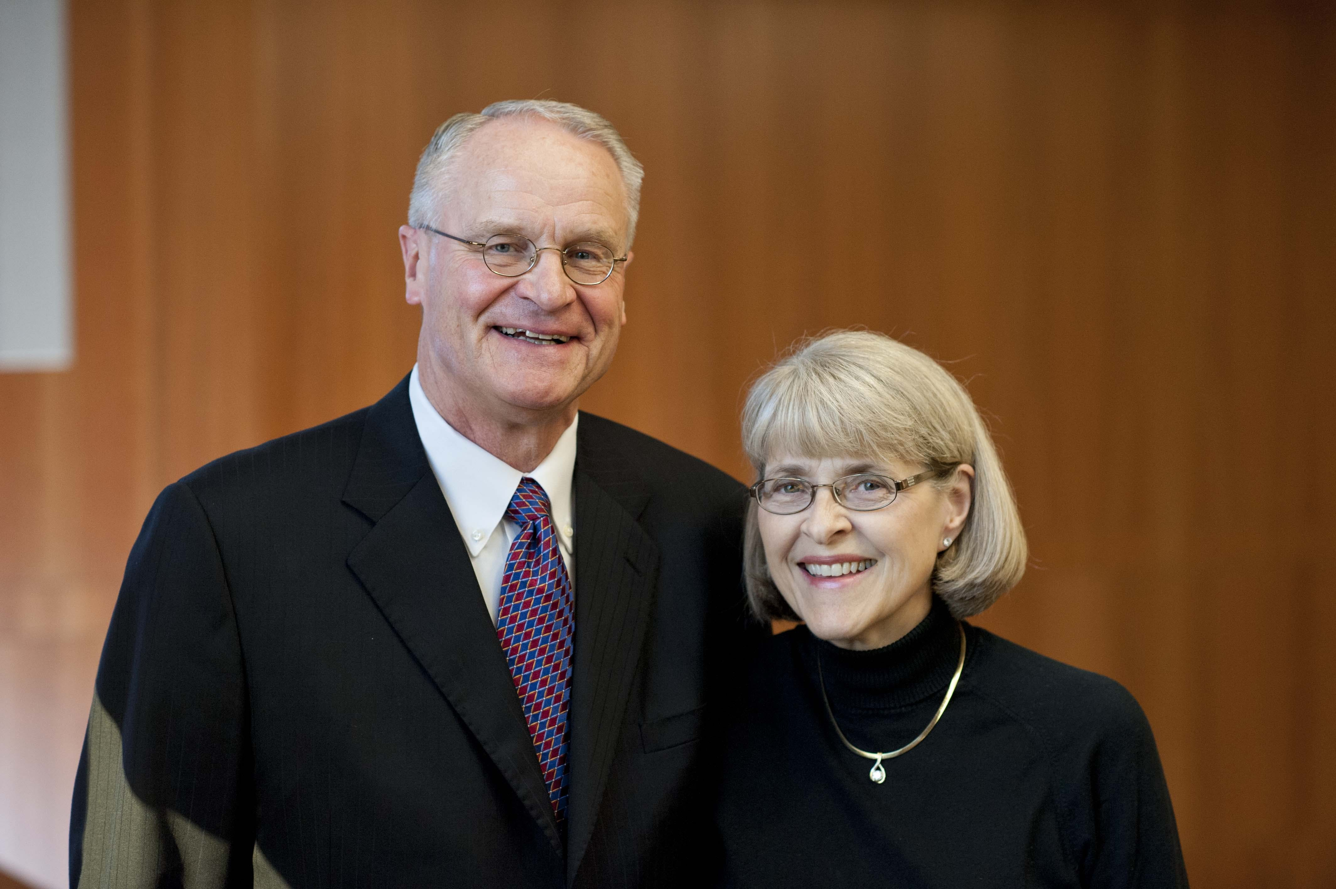 Through their deferred charitable gift annuity, Pam '72 and Paul Olson receive fixed annual payments in retirement while contributing to the growth of Bethel's endowment.