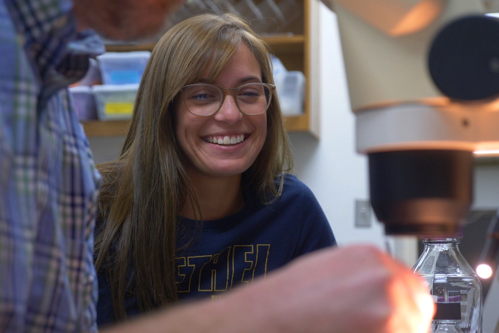 Maria Pecoraro '19 is Using Her Love of Science—and Learning—to Help Others