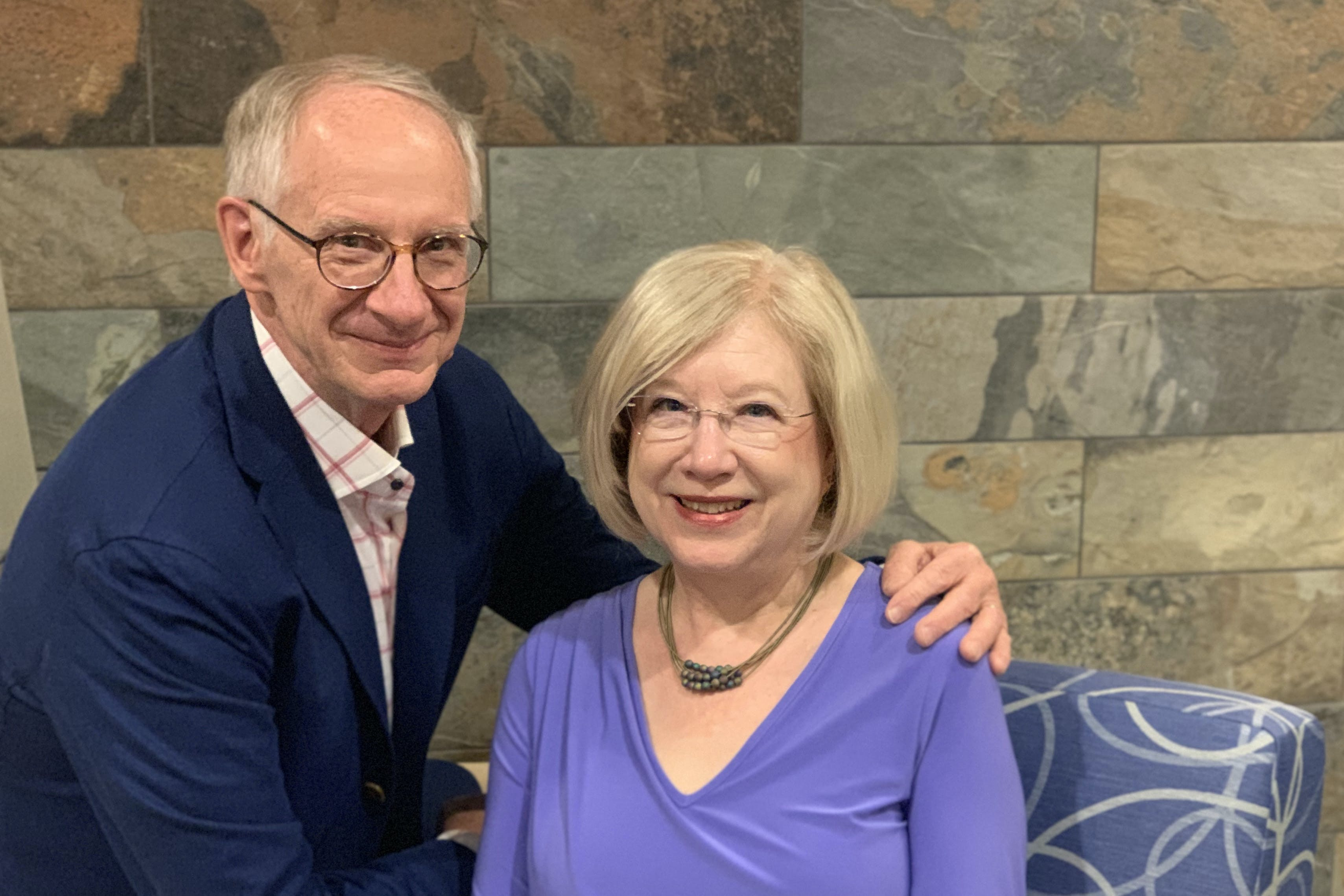 Bethel donors Ron and Linda Dischinger