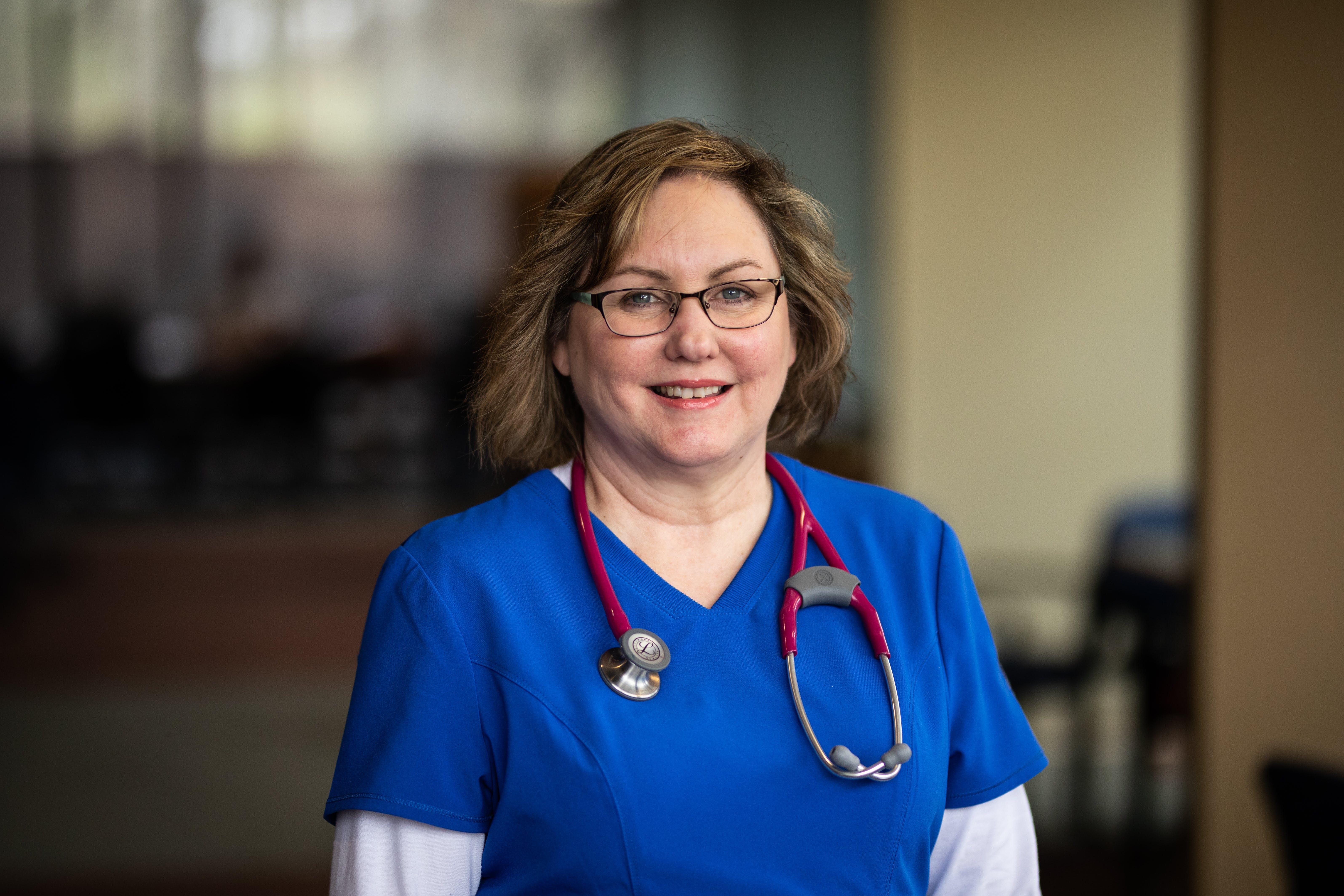 Nursing student Shirlene Schmidt '19