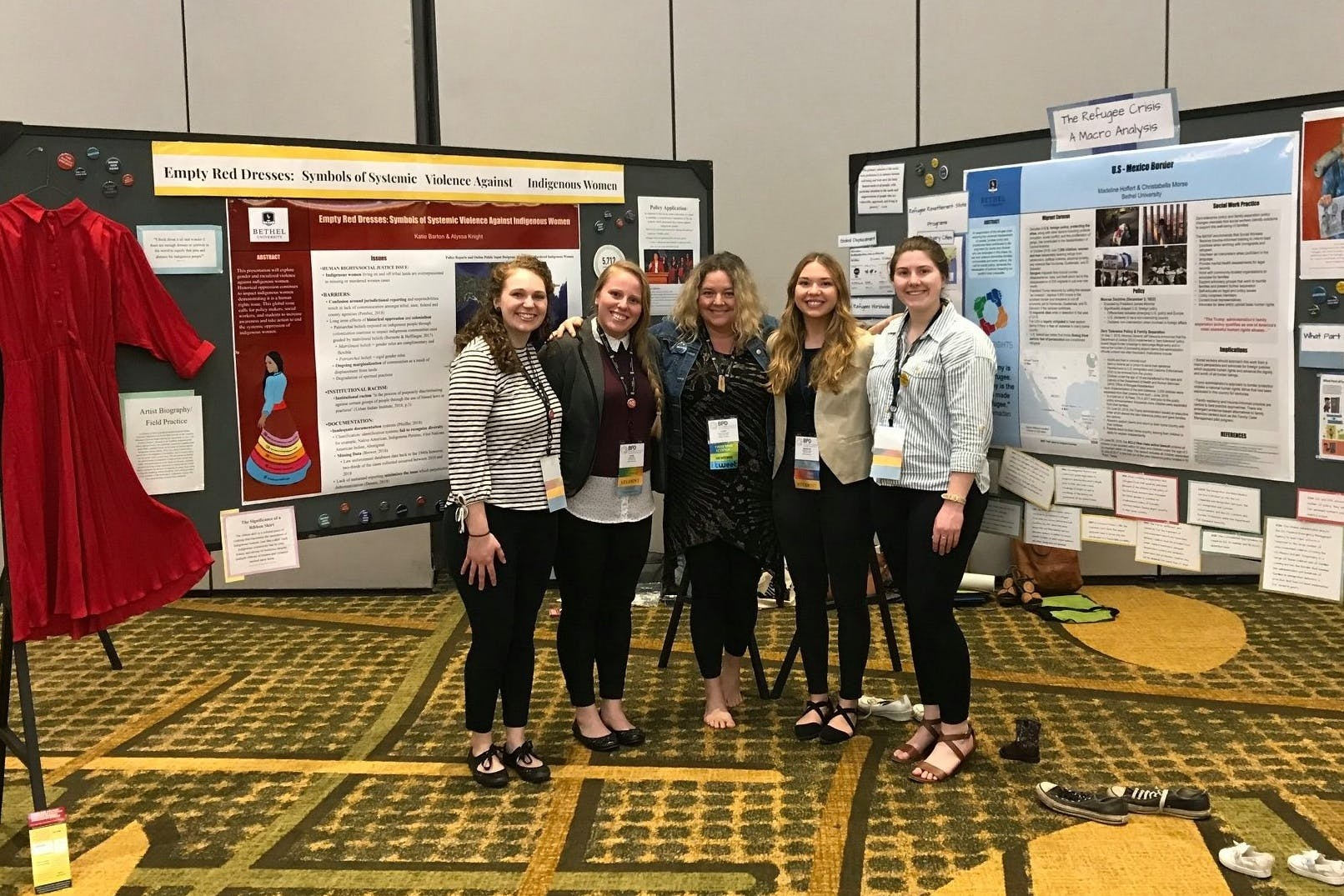 Social Work Students Take First Place in National Conference