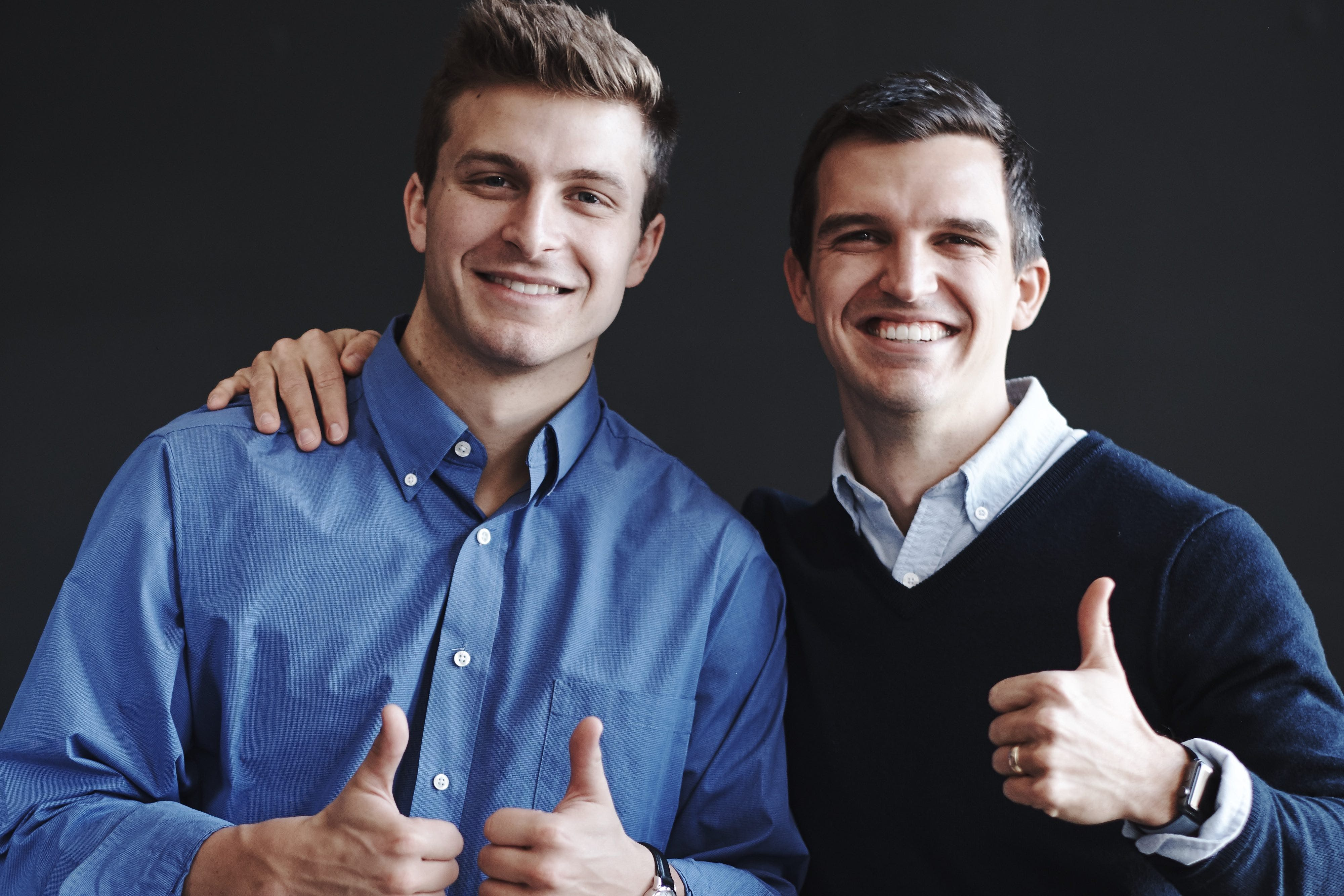 Sam Steadman '16 and Taylor Doolittle co-founded and co-lead Team Steady Real Estate.