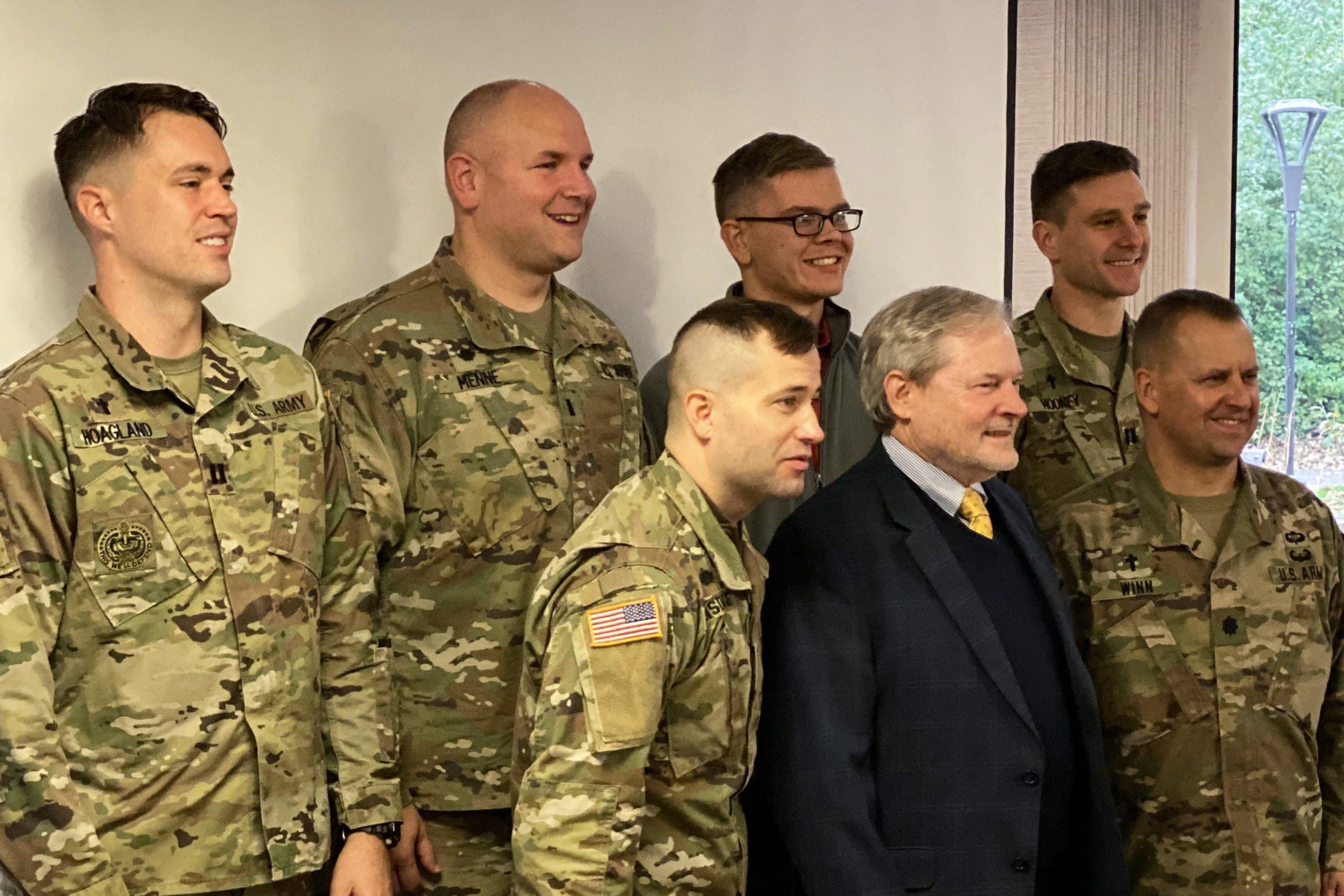 Bethel Honors Military Veterans