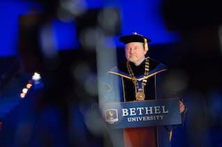 Bethel President Jay Barnes